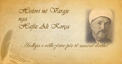 72 Histori në vargje   Hafiz Ali Korça   Ardhja e vëllezërve për të marrë drithë