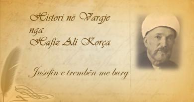64 Histori në vargje   Hafiz Ali Korça   Jusufin e trembën me burg
