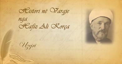 132 Histori në vargje   Hafiz Ali Korça   Uzejri