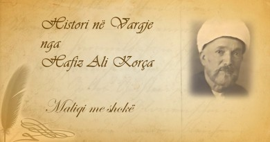 45 Histori në vargje   Hafiz Ali Korça   Maliqi me shokë