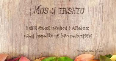 Mos u Trishto  41 I tille eshte denimi i Allahut per popujt qe bejne padrejtesi