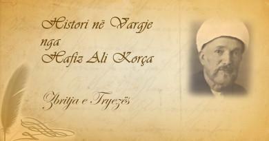 144 Histori në vargje   Hafiz Ali Korça   Zbritja e Tryezës