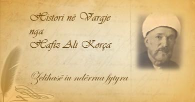 Histori në vargje 37 Hafiz Ali Korça   Zelihasë iu ndërrua fytyra